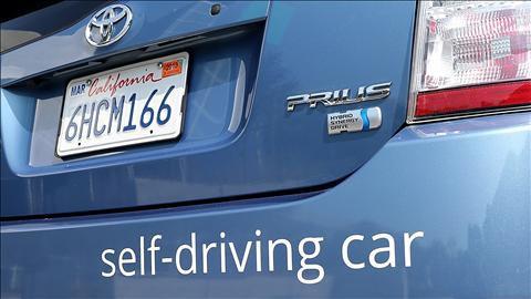 Toyota Self Driving Car
